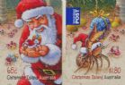 CHI SG788-9 Christmas 2014 self-adhesive set of 2 from sheetlets